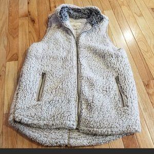 EUC Thread & Supply Shearling Vest